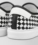 BOTTEGA VENETA NERO/BIANCO CALF BV CHECKER SLIP-ON Trainers Man ap