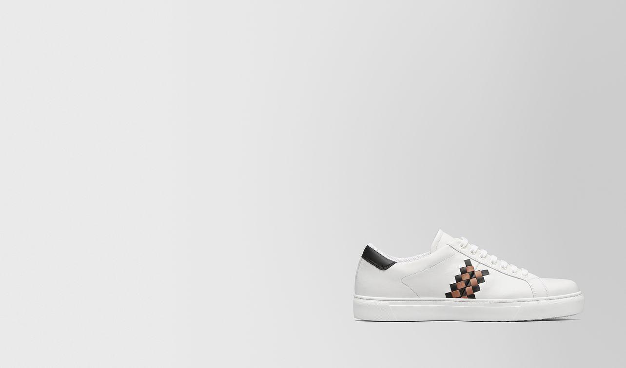 bianco/dahlia calf bv checker sneaker landing