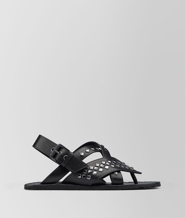 BOTTEGA VENETA NERO CALF RAVELLO SANDAL Sandals Woman fp