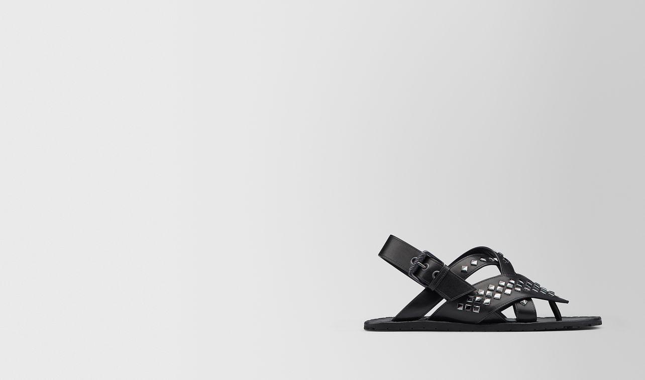 nero calf ravello sandal landing