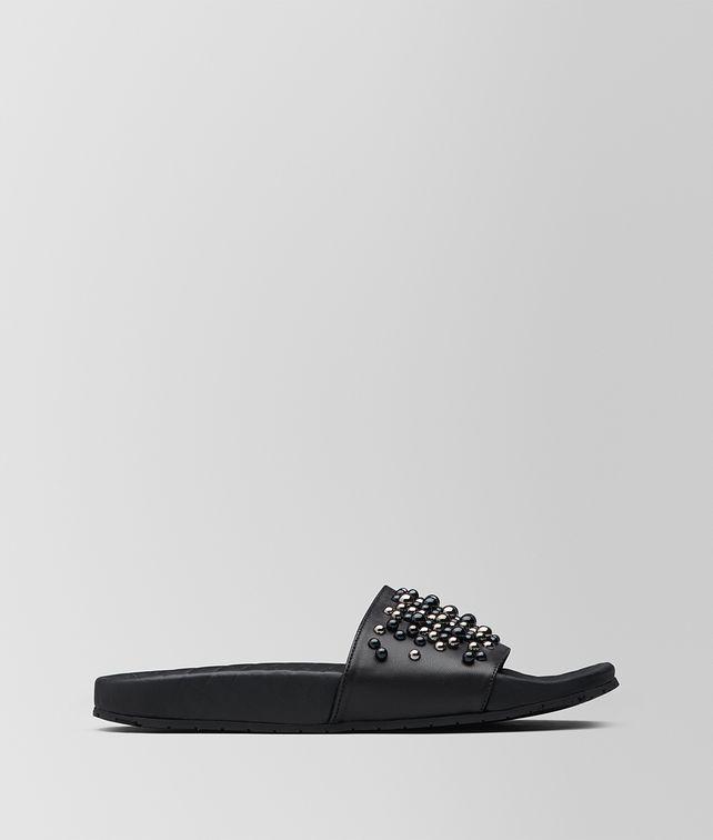 BOTTEGA VENETA NERO NAPPA LAKE SANDAL Sandals Woman fp
