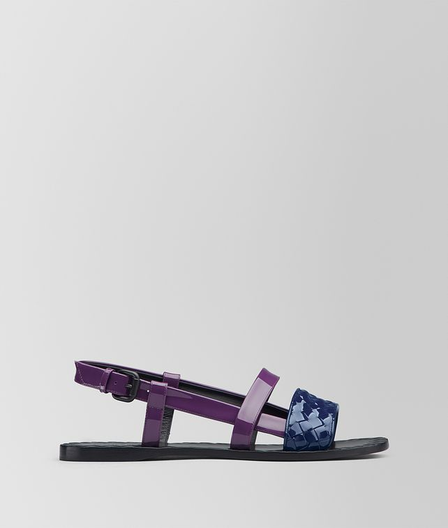 BOTTEGA VENETA ATLANTIC PATENT CALF RAVELLO SANDAL Sandals [*** pickupInStoreShipping_info ***] fp