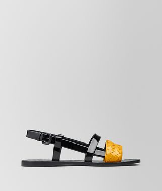 SUNSET PATENT CALF RAVELLO SANDAL
