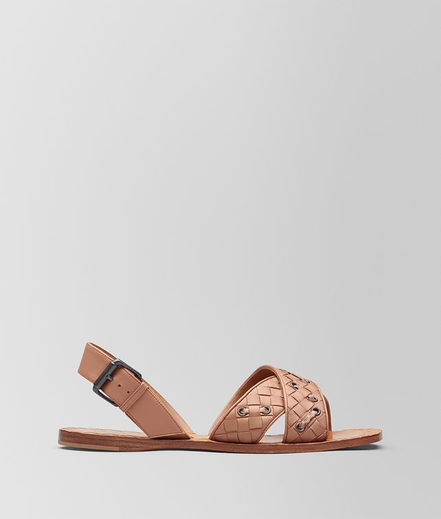 BOTTEGA VENETA DAHLIA INTRECCIATO NAPPA RAVELLO SANDAL Sandals Woman fp