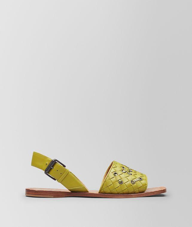 BOTTEGA VENETA CHAMOMILE INTRECCIATO NAPPA RAVELLO SANDAL Sandals Woman fp