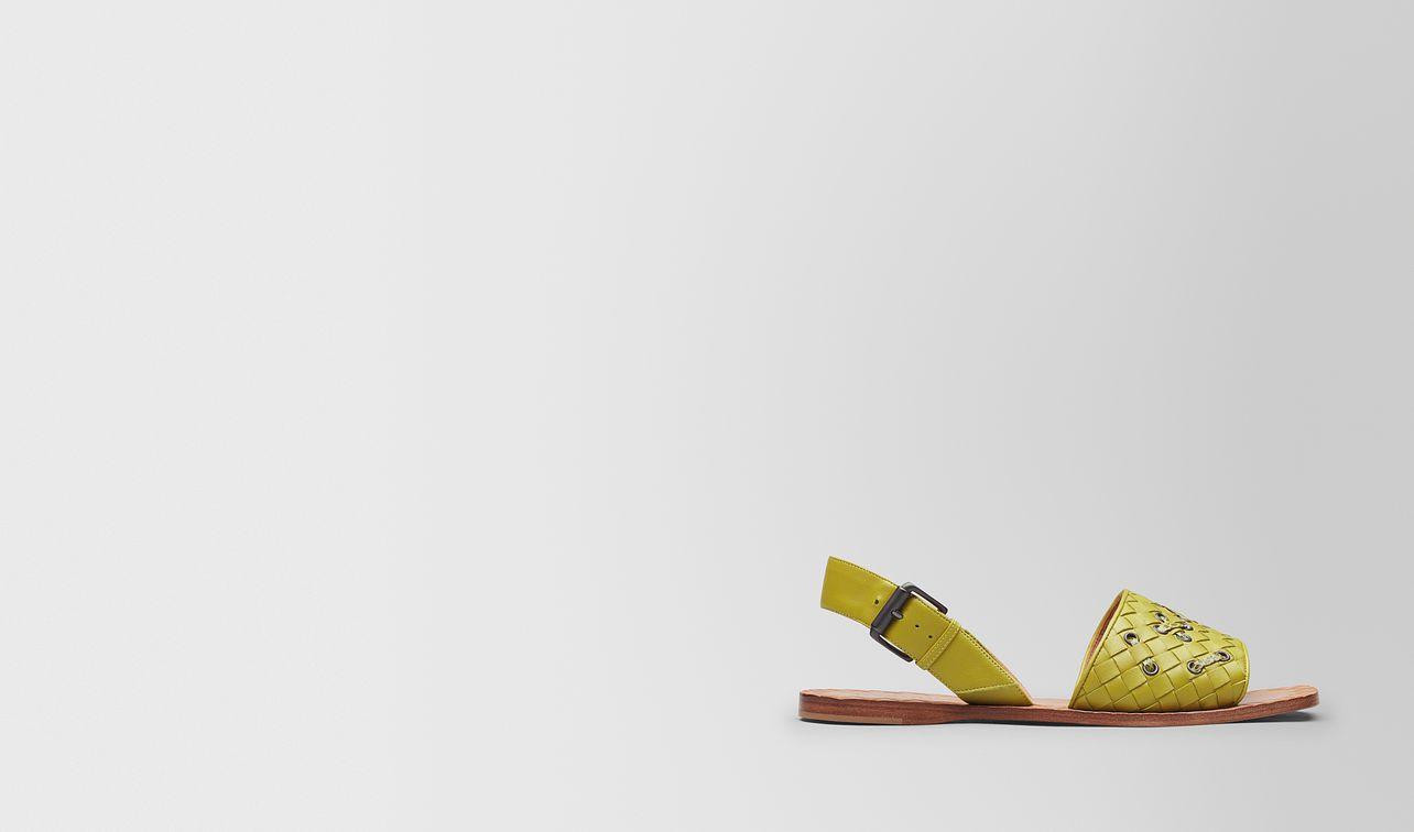 chamomile intrecciato nappa ravello sandal landing