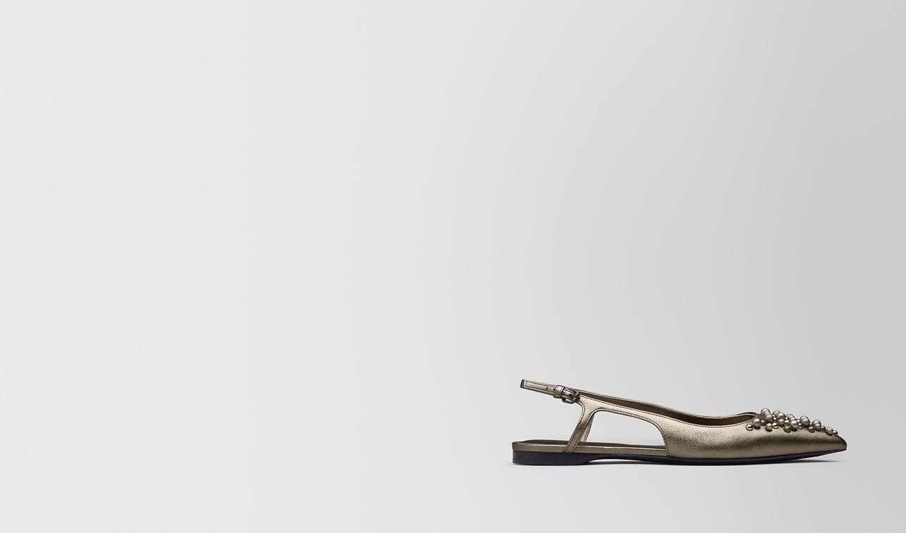 ballerine in nappa argento antique landing