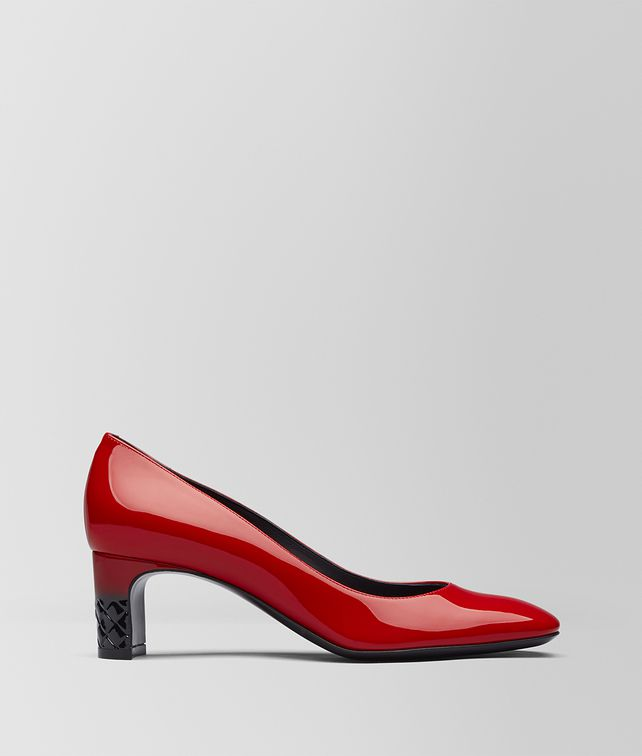 BOTTEGA VENETA CHINA RED PATENT CALF ISABELLA PUMP Pump [*** pickupInStoreShipping_info ***] fp