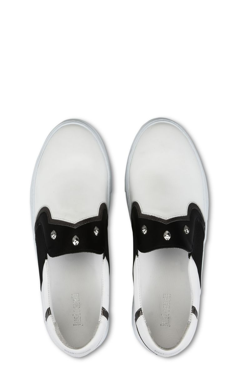 JUST CAVALLI Slip-on with studs Sneakers [*** pickupInStoreShippingNotGuaranteed_info ***] d