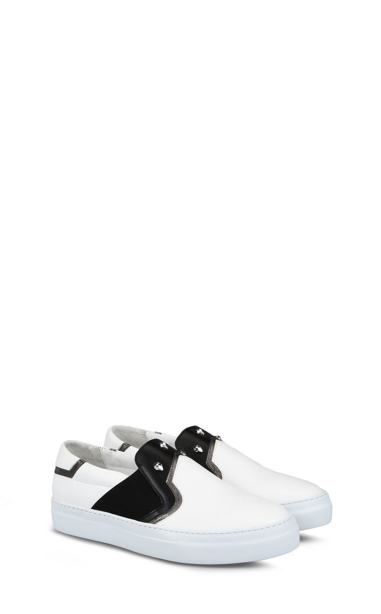JUST CAVALLI Slip-on with studs Sneakers Man r