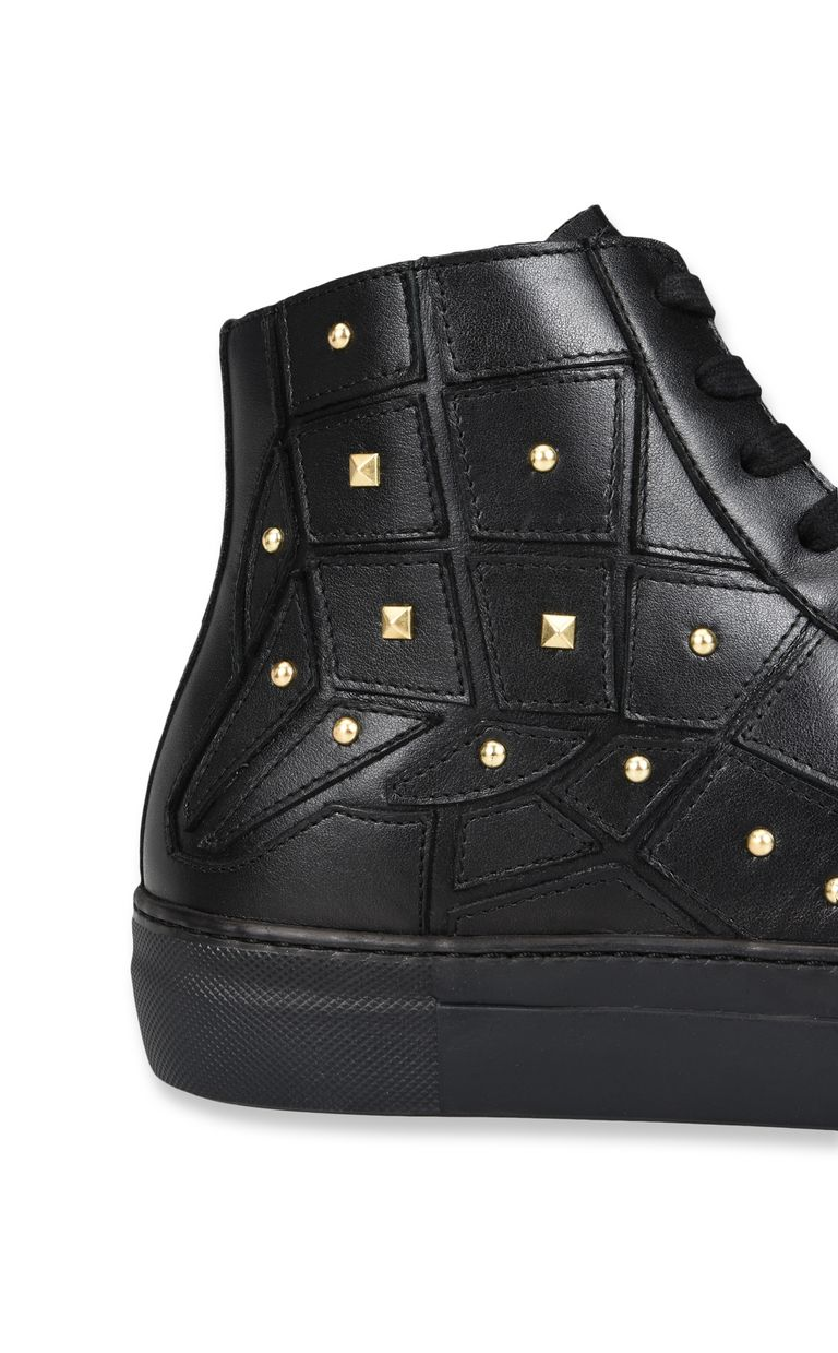 JUST CAVALLI High-top sneaker with studs Sneakers Man e