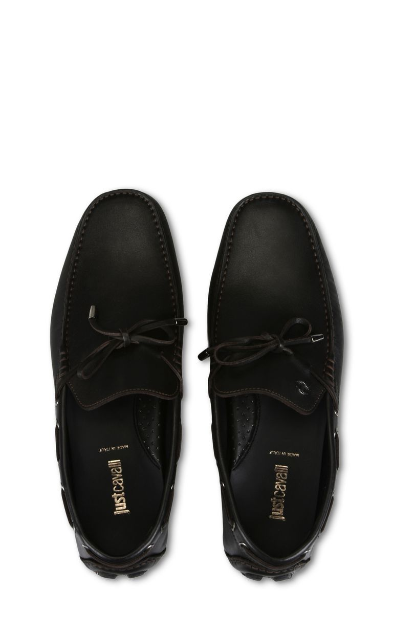 JUST CAVALLI Leather loafer Moccassins [*** pickupInStoreShippingNotGuaranteed_info ***] d