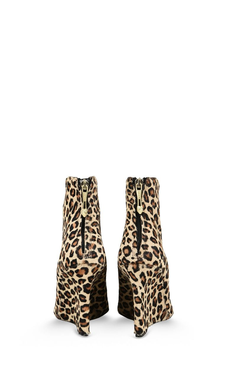 JUST CAVALLI Leopard-print high ankle boot Ankle boots Woman d