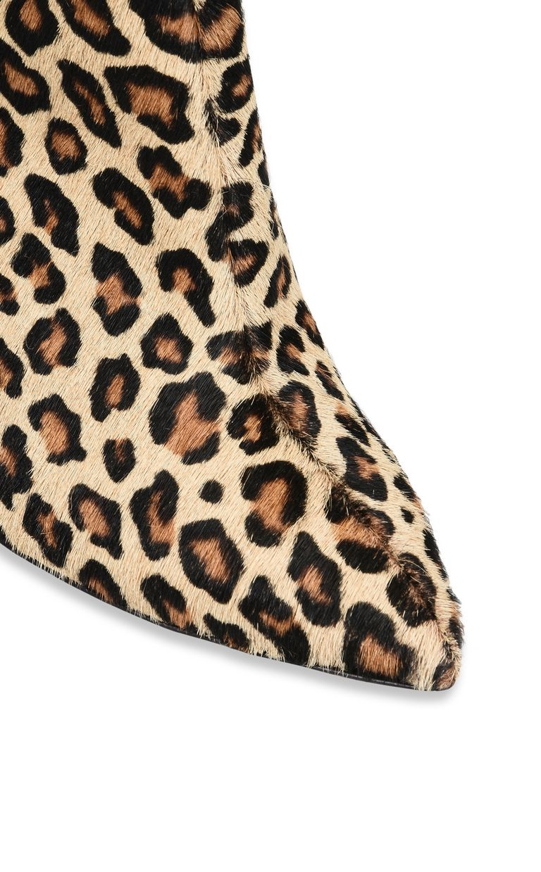 JUST CAVALLI Leopard-print high ankle boot Ankle boots Woman e