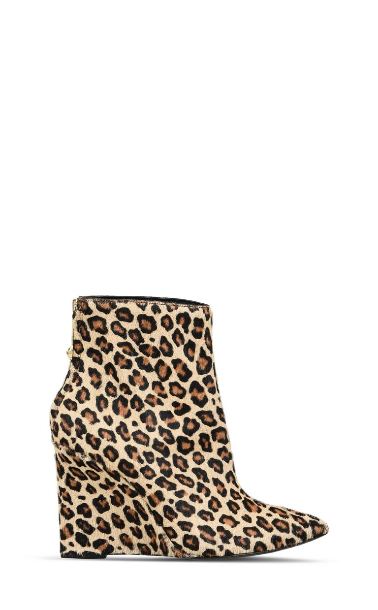 JUST CAVALLI Leopard-print high ankle boot Ankle boots Woman f