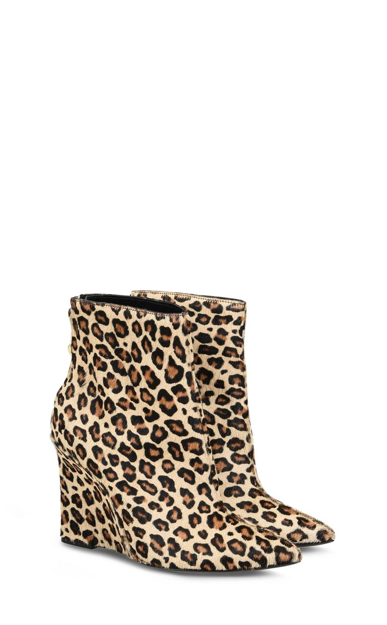 JUST CAVALLI Leopard-print high ankle boot Ankle boots Woman r