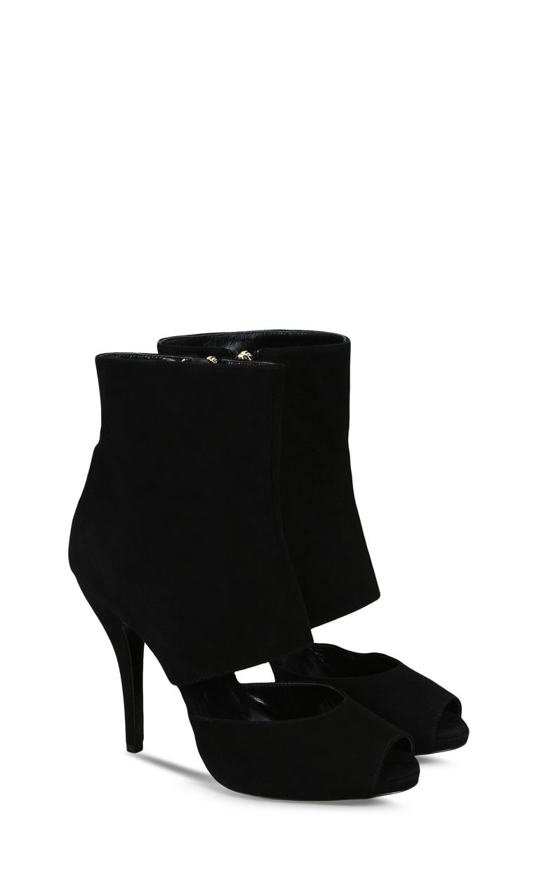 JUST CAVALLI High ankle boot with cut-out detail Ankle boots Woman r