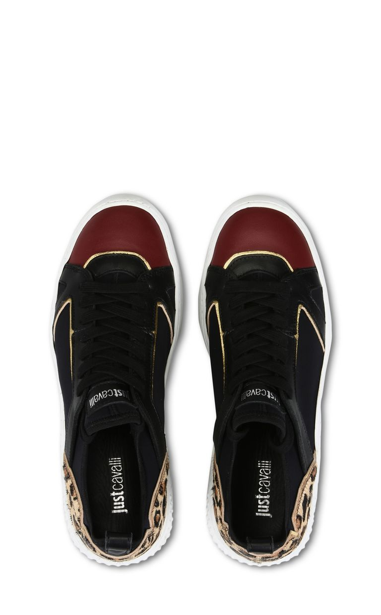 JUST CAVALLI Sneaker with contrast details Sneakers [*** pickupInStoreShipping_info ***] d