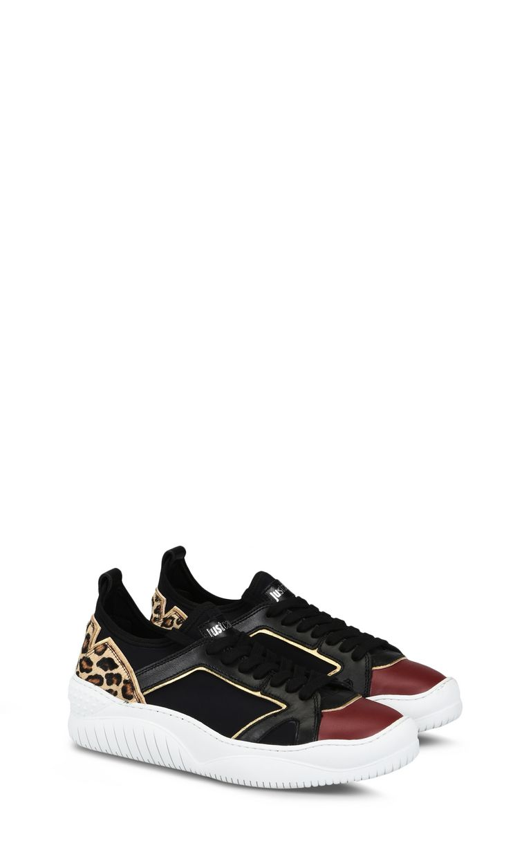 JUST CAVALLI Sneaker with contrast details Sneakers Woman r