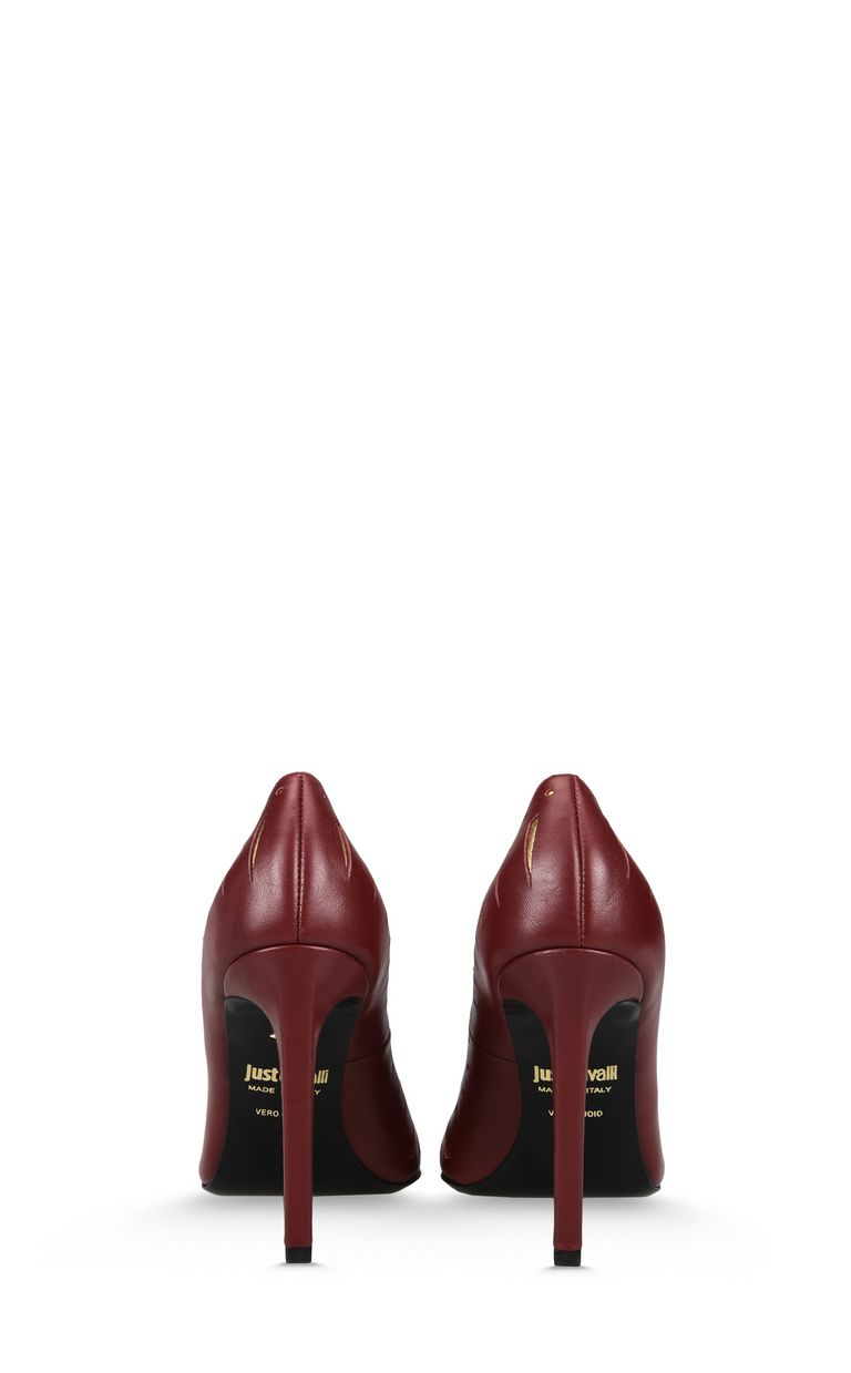 JUST CAVALLI Court shoe with cut-out details Pump Woman d