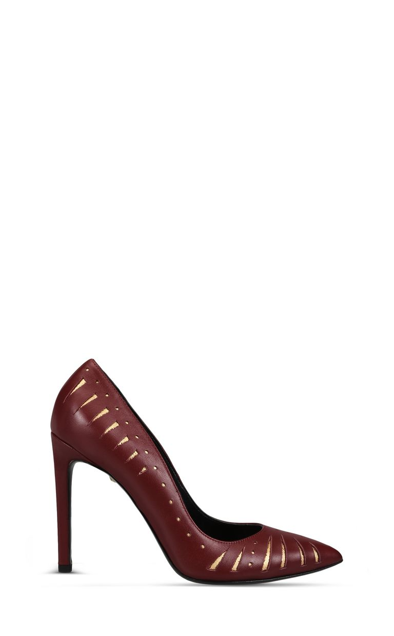JUST CAVALLI Court shoe with cut-out details Pump Woman f