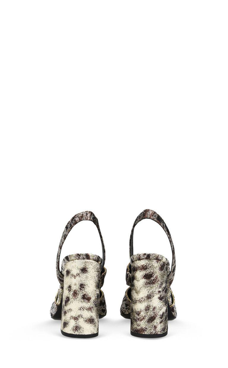 JUST CAVALLI Bronze-tone sandal Sandals [*** pickupInStoreShipping_info ***] d