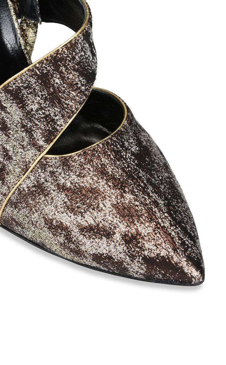 JUST CAVALLI Bronze-tone sandal Sandals [*** pickupInStoreShipping_info ***] e