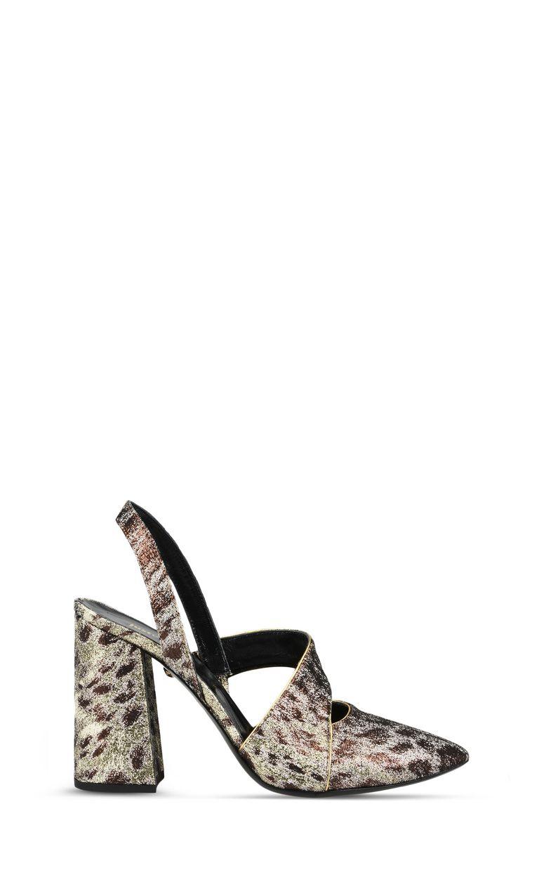 JUST CAVALLI Bronze-tone sandal Sandals [*** pickupInStoreShipping_info ***] f