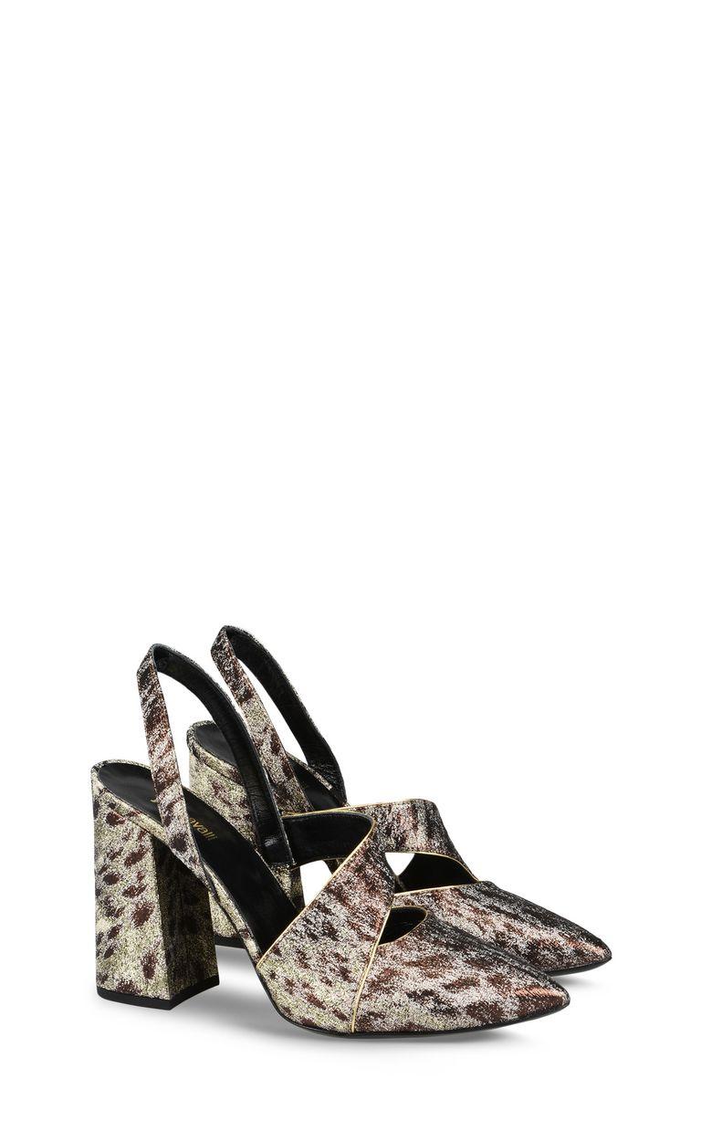 JUST CAVALLI Bronze-tone sandal Sandals [*** pickupInStoreShipping_info ***] r