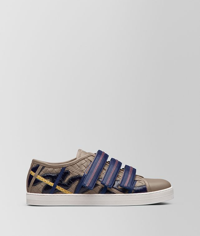 BOTTEGA VENETA MULTICOLOR MULTIMATERIAL SAIL SNEAKER Trainers [*** pickupInStoreShipping_info ***] fp