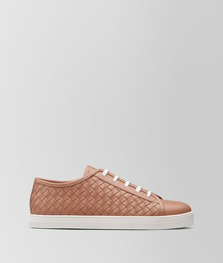 SNEAKER CARMEL IN VITELLO DAHLIA