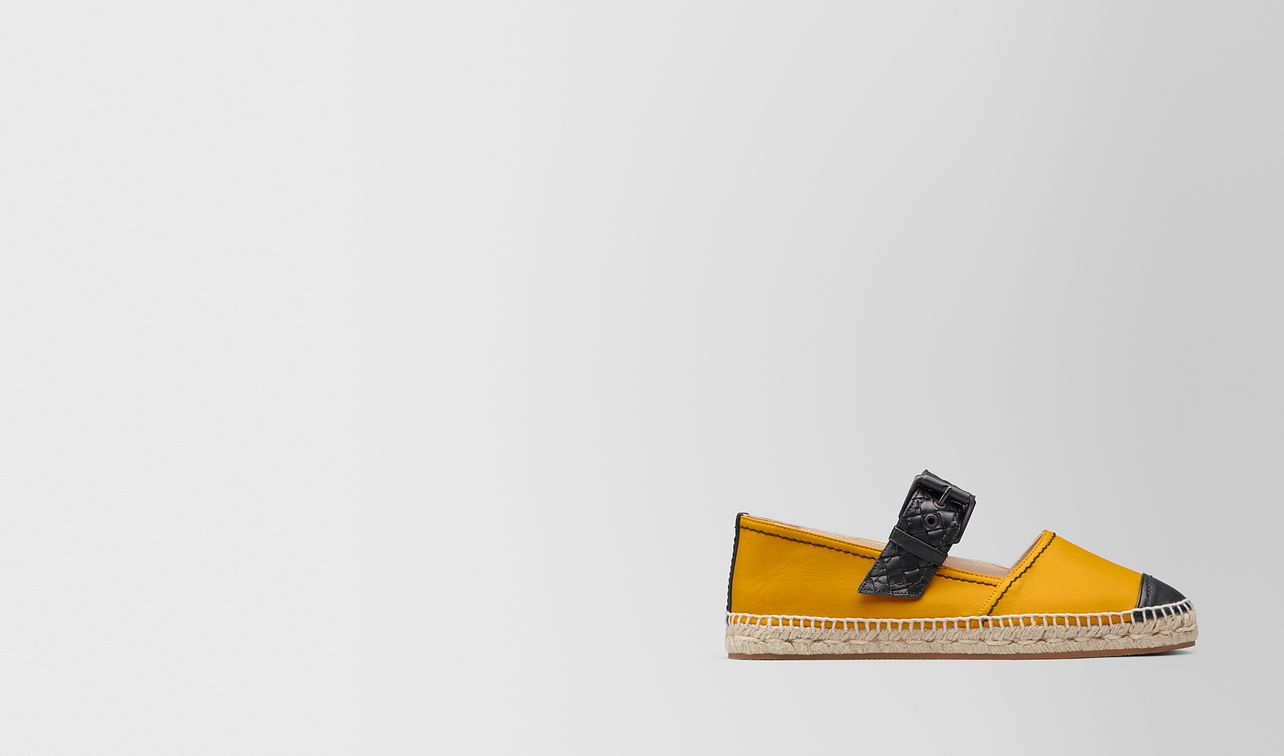espadrillas in nappa sunset/nero landing