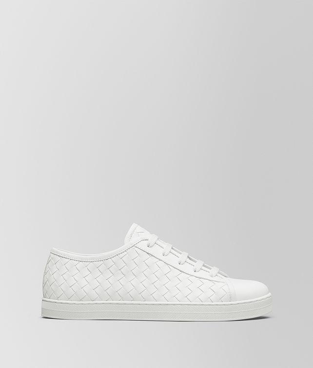 BOTTEGA VENETA BIANCO CALF CARMEL SNEAKER Trainers Woman fp