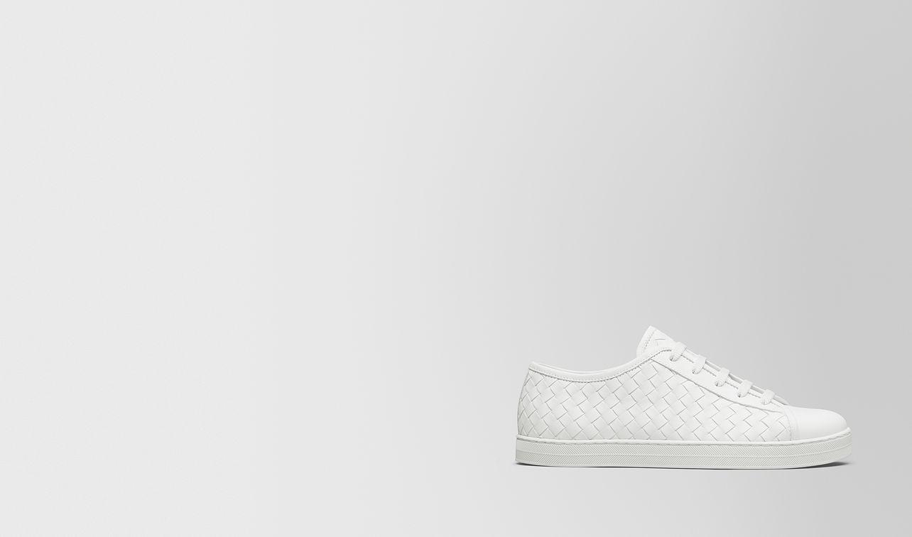 bianco calf carmel sneaker landing