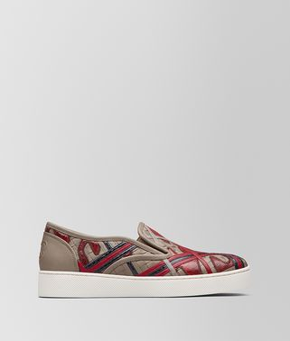 SNEAKER SAIL IN MULTIMATERIALE CHINA RED
