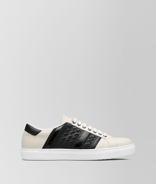 SNEAKER BV TECH STRIPE IN VITELLO MIST