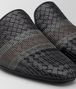 BOTTEGA VENETA NERO INTRECCIATO NAPPA STITCHING FIANDRA SLIPPER Mocassin or Slipper Man ap