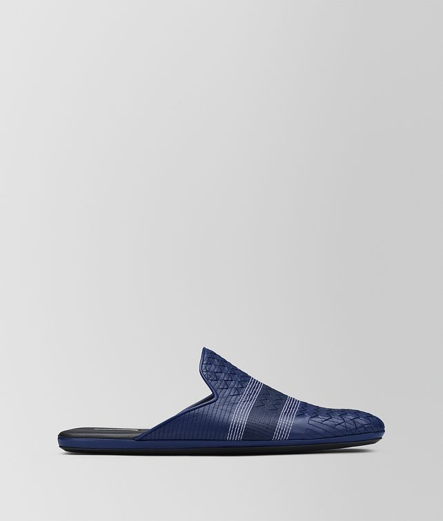 BOTTEGA VENETA ATLANTIC INTRECCIATO NAPPA STITCHING FIANDRA SLIPPER Mocassin or Slipper Man fp