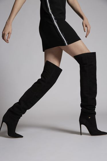 DSQUARED2 New York Night Heeled Boots Boot Woman