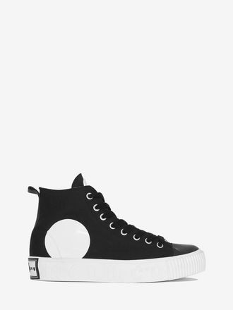 Swallow High Top Platform Plimsoll