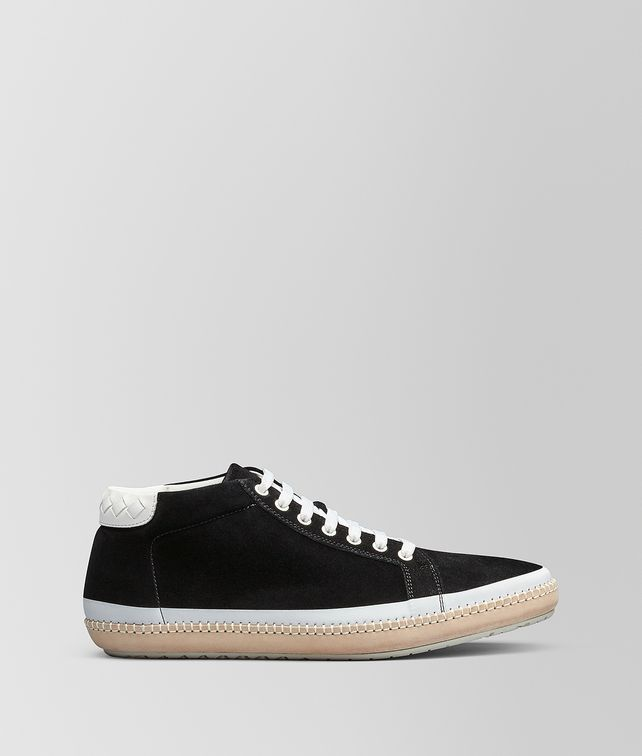 BOTTEGA VENETA NERO SUEDE BV FELLOWS SNEAKER  Trainers Man fp