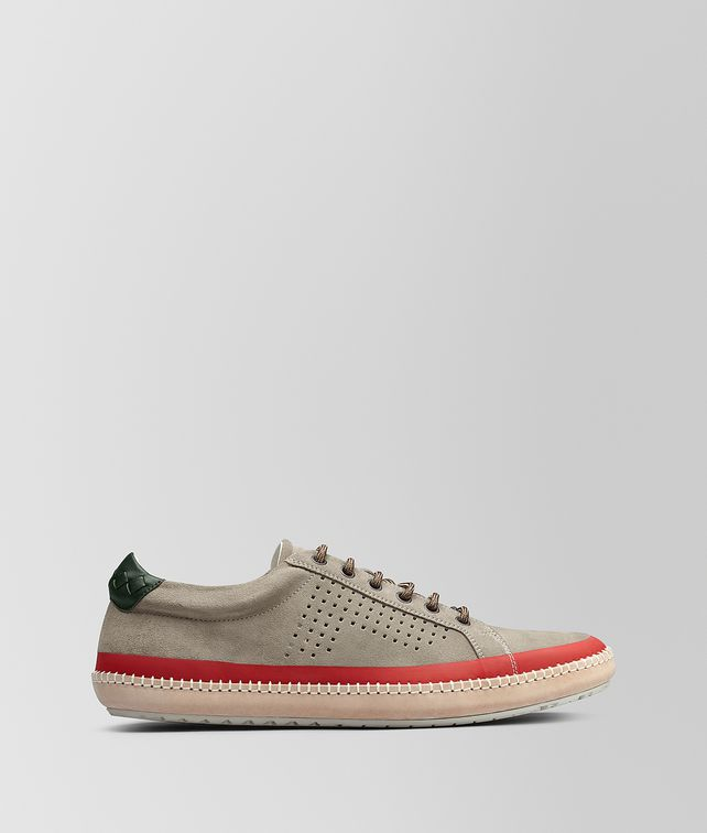 BOTTEGA VENETA DARK CEMENT SUEDE BV FELLOWS SNEAKER  Trainers [*** pickupInStoreShippingNotGuaranteed_info ***] fp