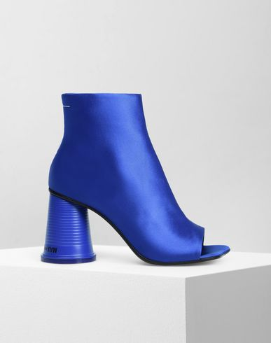 MM6 MAISON MARGIELA Ankle boots Woman Peep-toe cup heel ankle boots  f