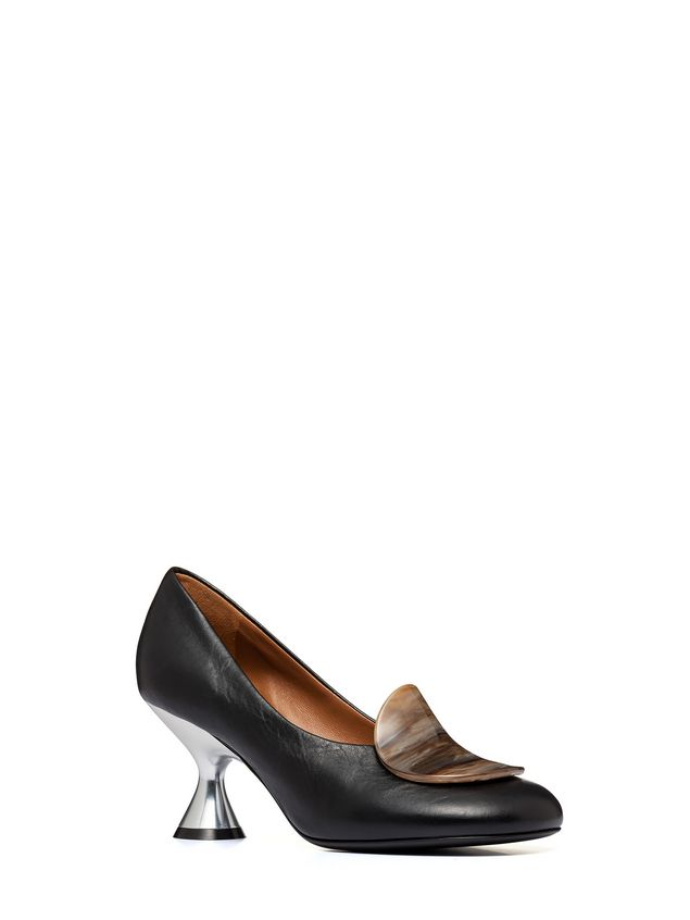 Marni Nappa leather pump with resin detail Woman - 2