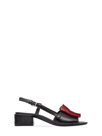 Marni Nappa leather sandal with resin detail Woman