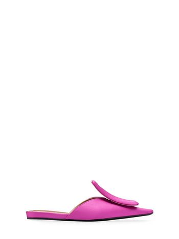 Marni Satin mule with padded tongue Woman