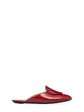 Marni Nappa leather mule black red Woman