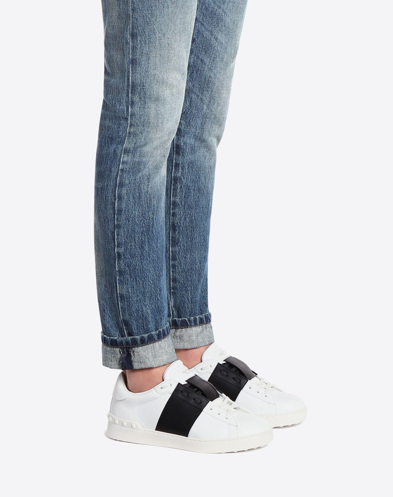 VALENTINO GARAVANI UOMO Open low-top sneaker  ZAPATO PLANO U a