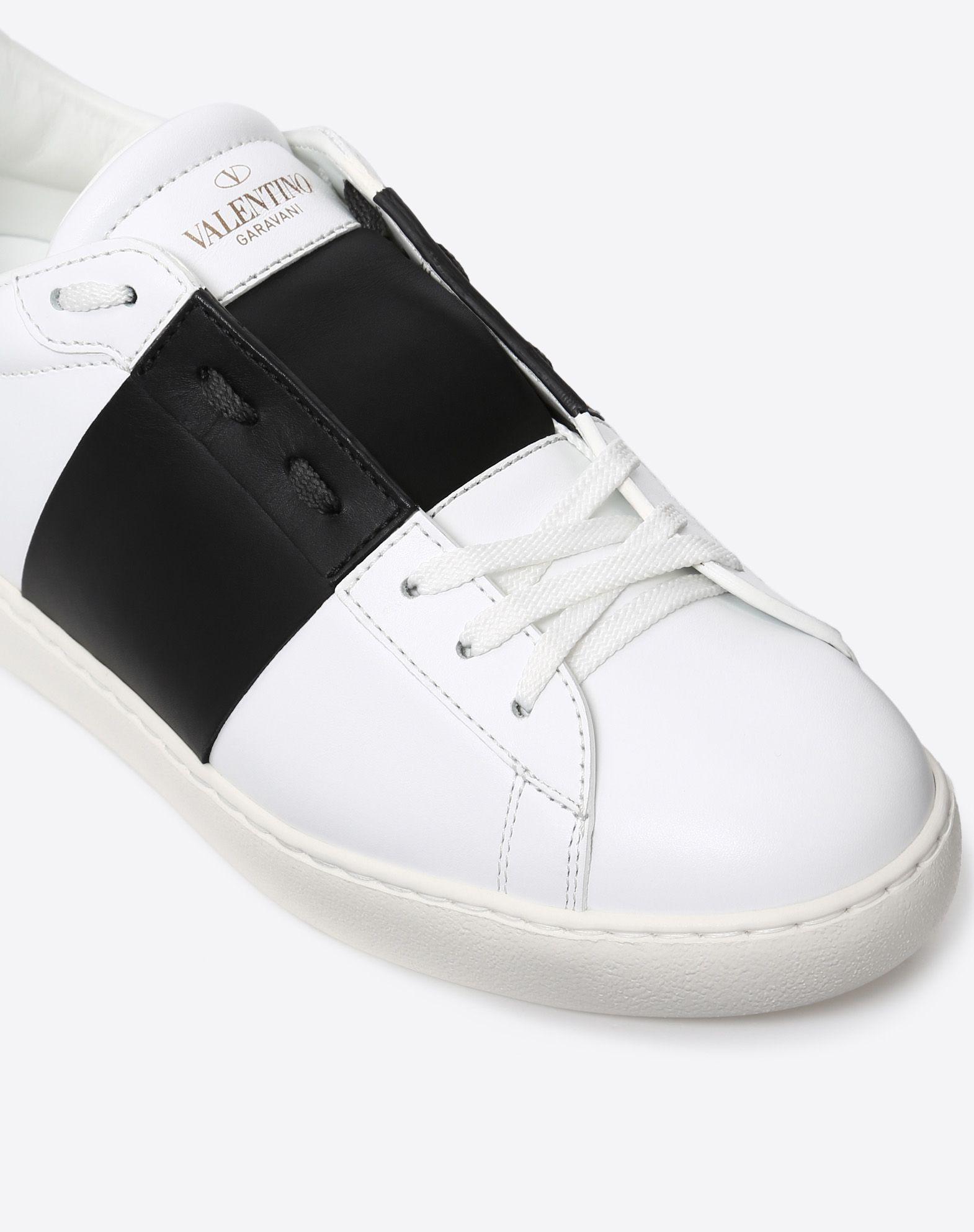 VALENTINO GARAVANI UOMO Open low-top sneaker  ZAPATO PLANO U b