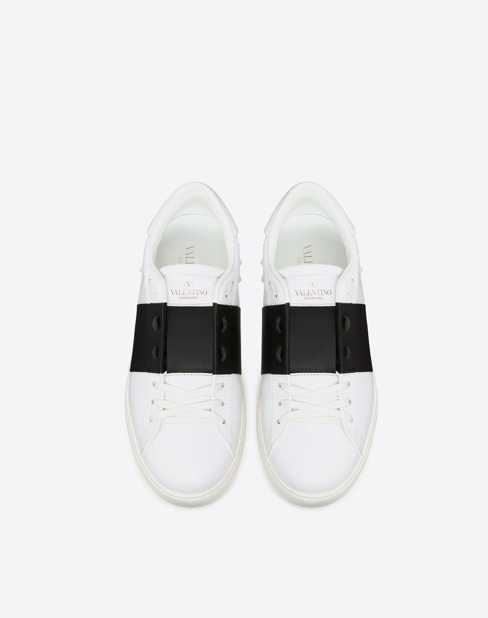 VALENTINO GARAVANI UOMO Open low-top sneaker  ZAPATO PLANO U e